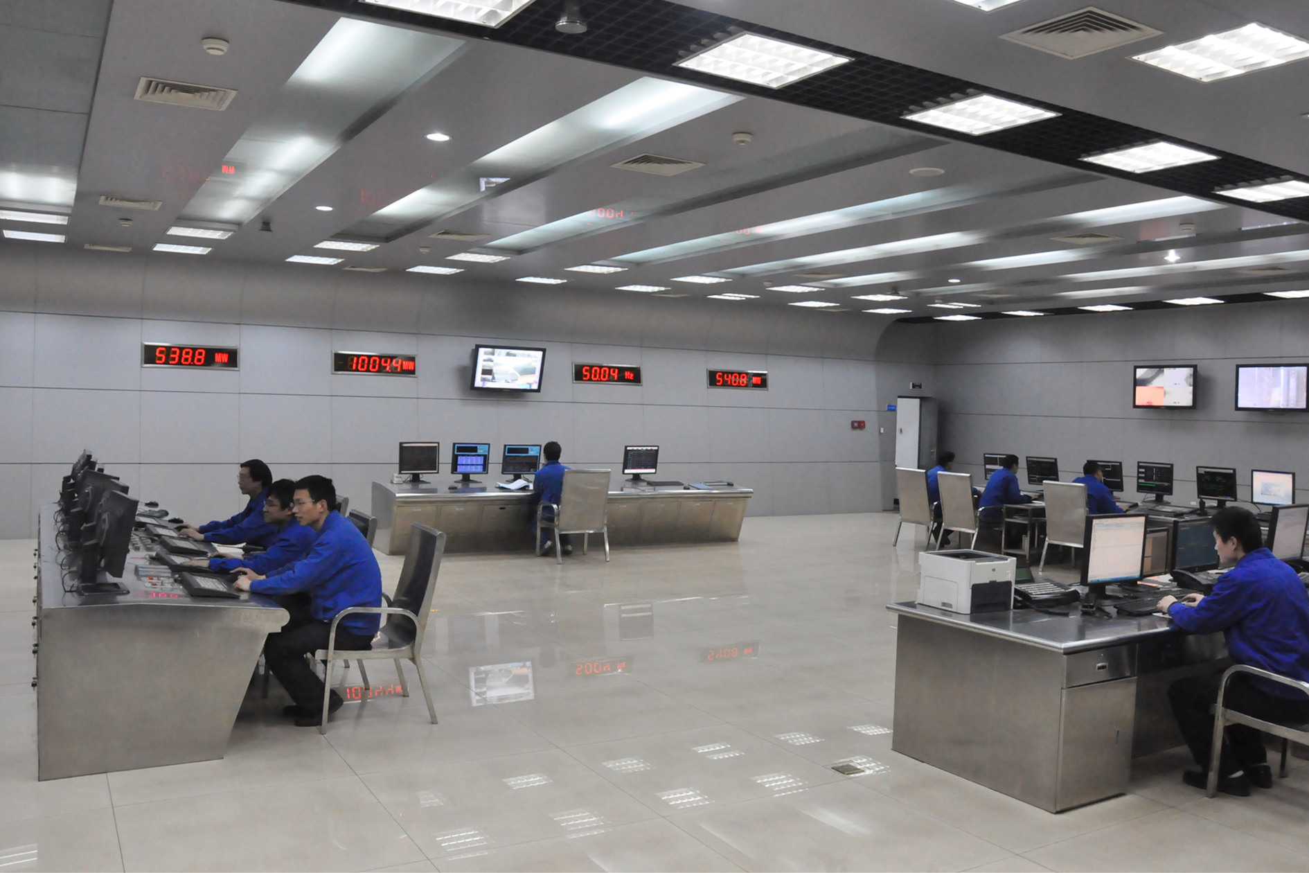 川南发电公司顺利完成2号机组完成超低排放改造
